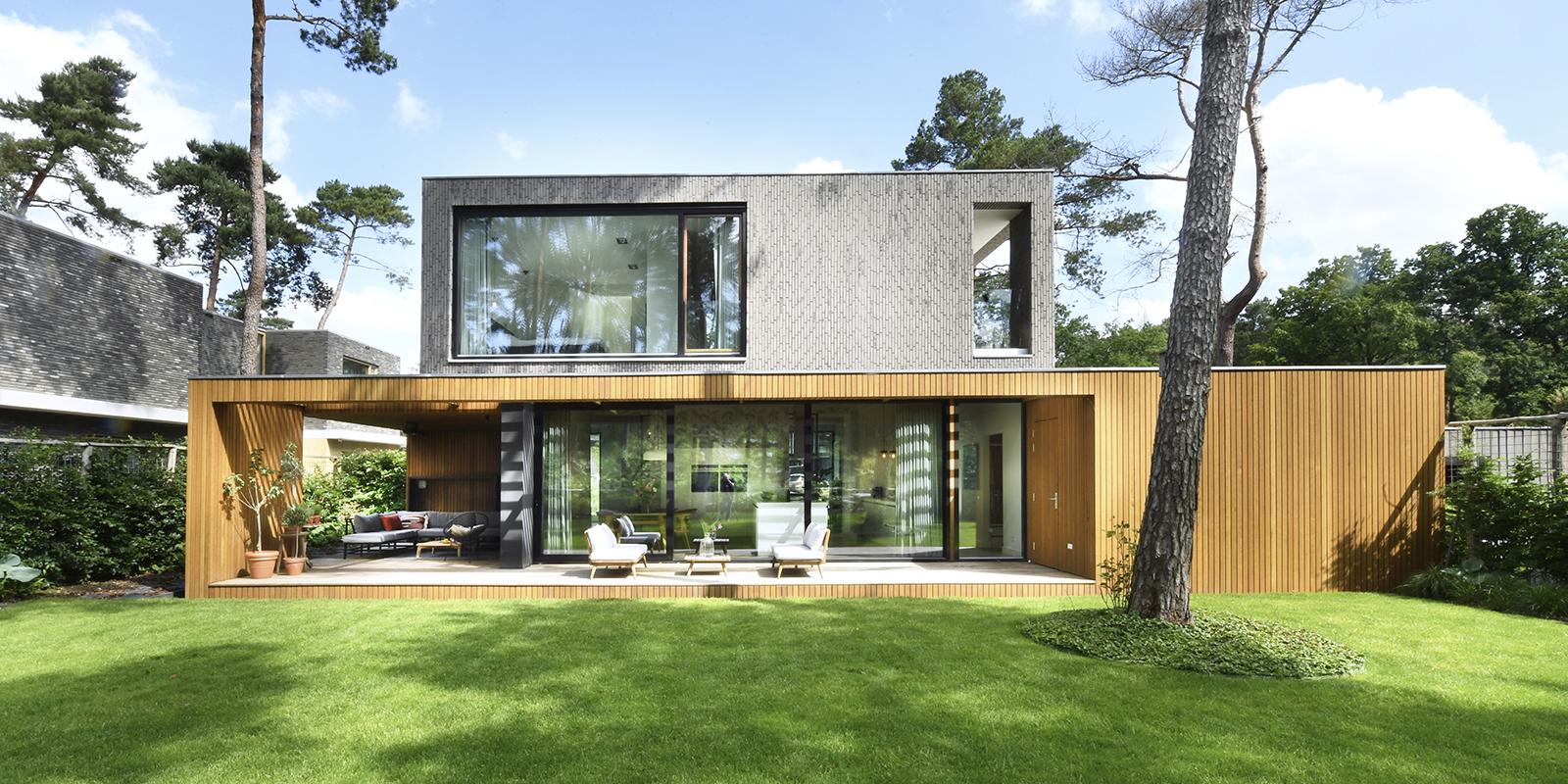 Moderne villa, Kraal Architecten, the art of living