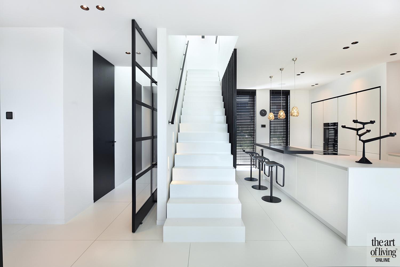 Zwart-wit, Enzo Architecten, the art of living