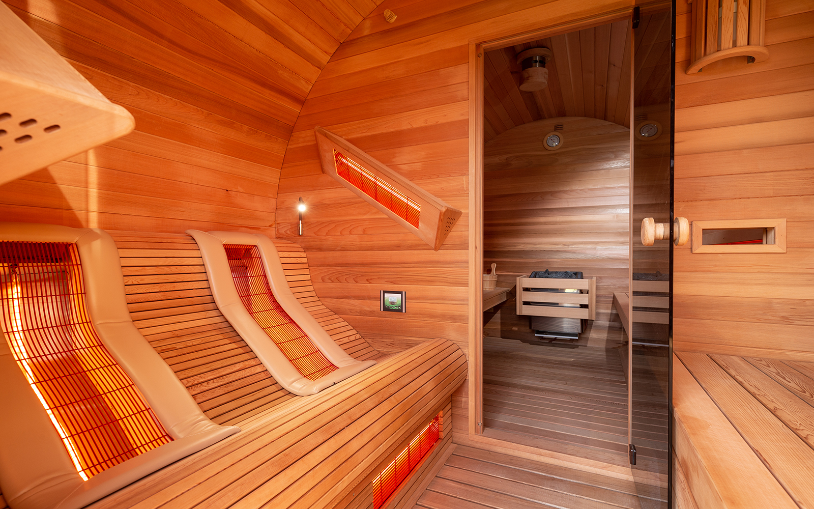 Barrels als sauna in je achtertuin, barrels, Alpha Industries