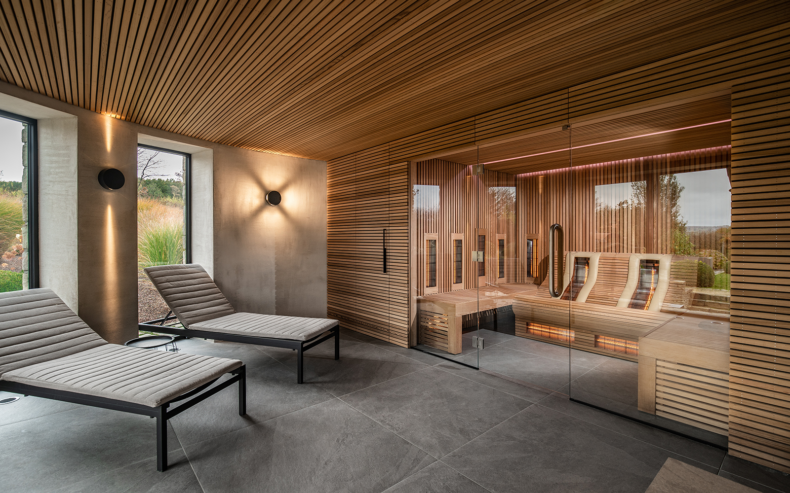 Exclusief sauna-interieur, sauna interieur, Alpha Industries