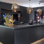 Luxe donkere keuken, donkere keuken, Tieleman Keukens