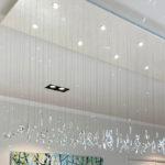 Zwevende kristallen kroonluchter, Kristallen kroonluchter, Haagsche Kunsthandel