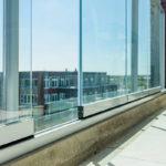 Kwalitatief glassysteem voor balkon, kwalitatief glassysteem, Metalura