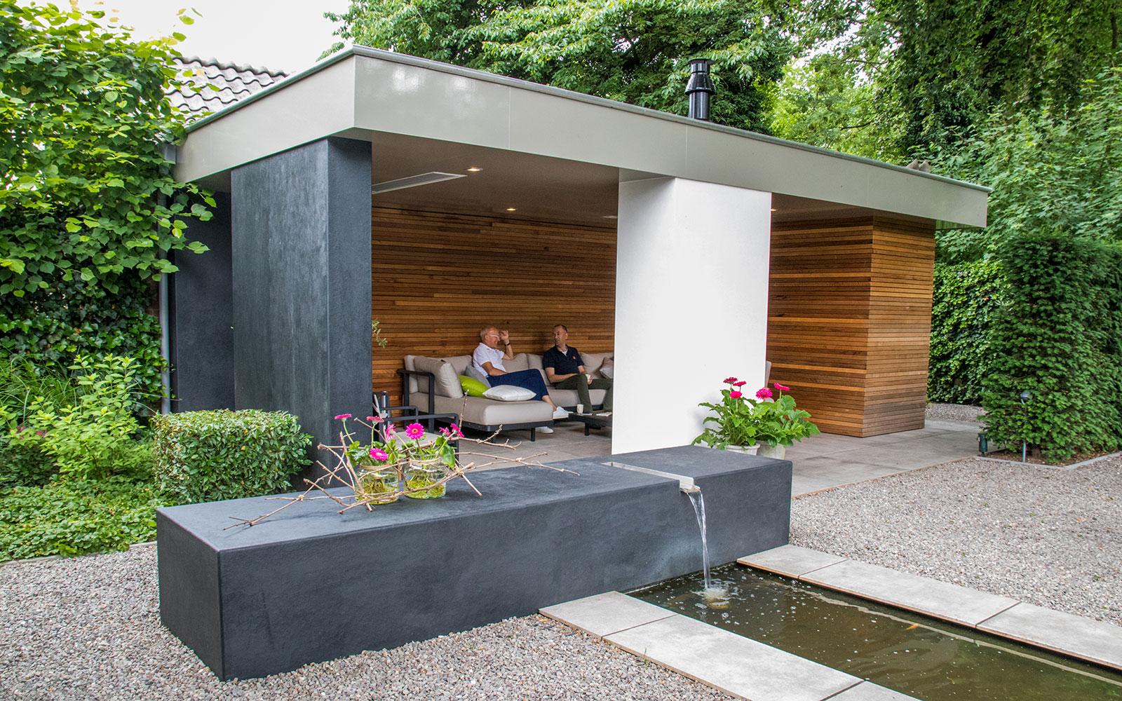 overdekt terras, Stoop Tuinen, the art of living