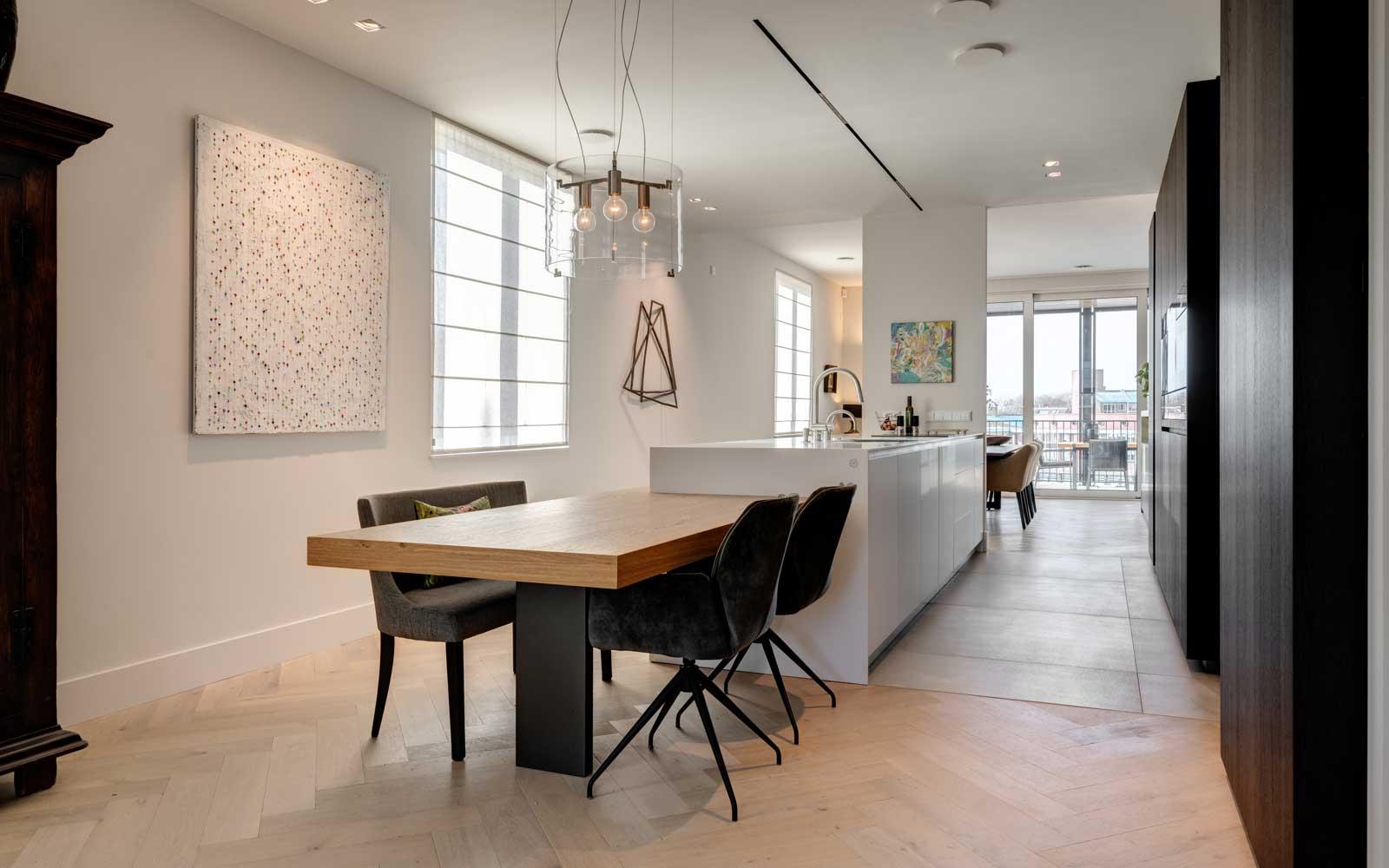 Luxueuze zwart-wit keuken, Culimaat, the art of living
