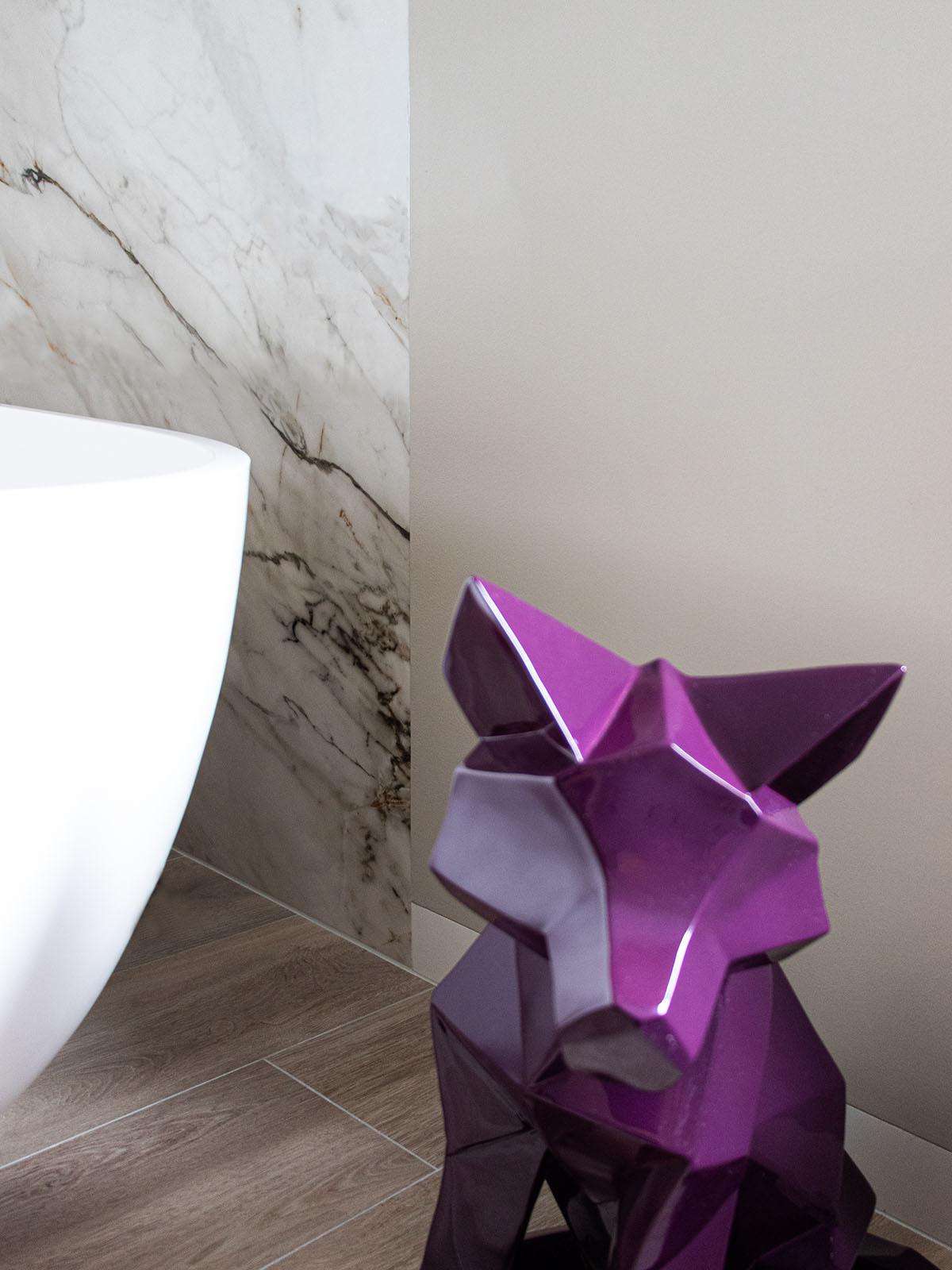 The art of living, Michel Oprey, Luxe badkamer, marmer