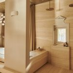 warmebadkamer, the art of living, Vola, hout