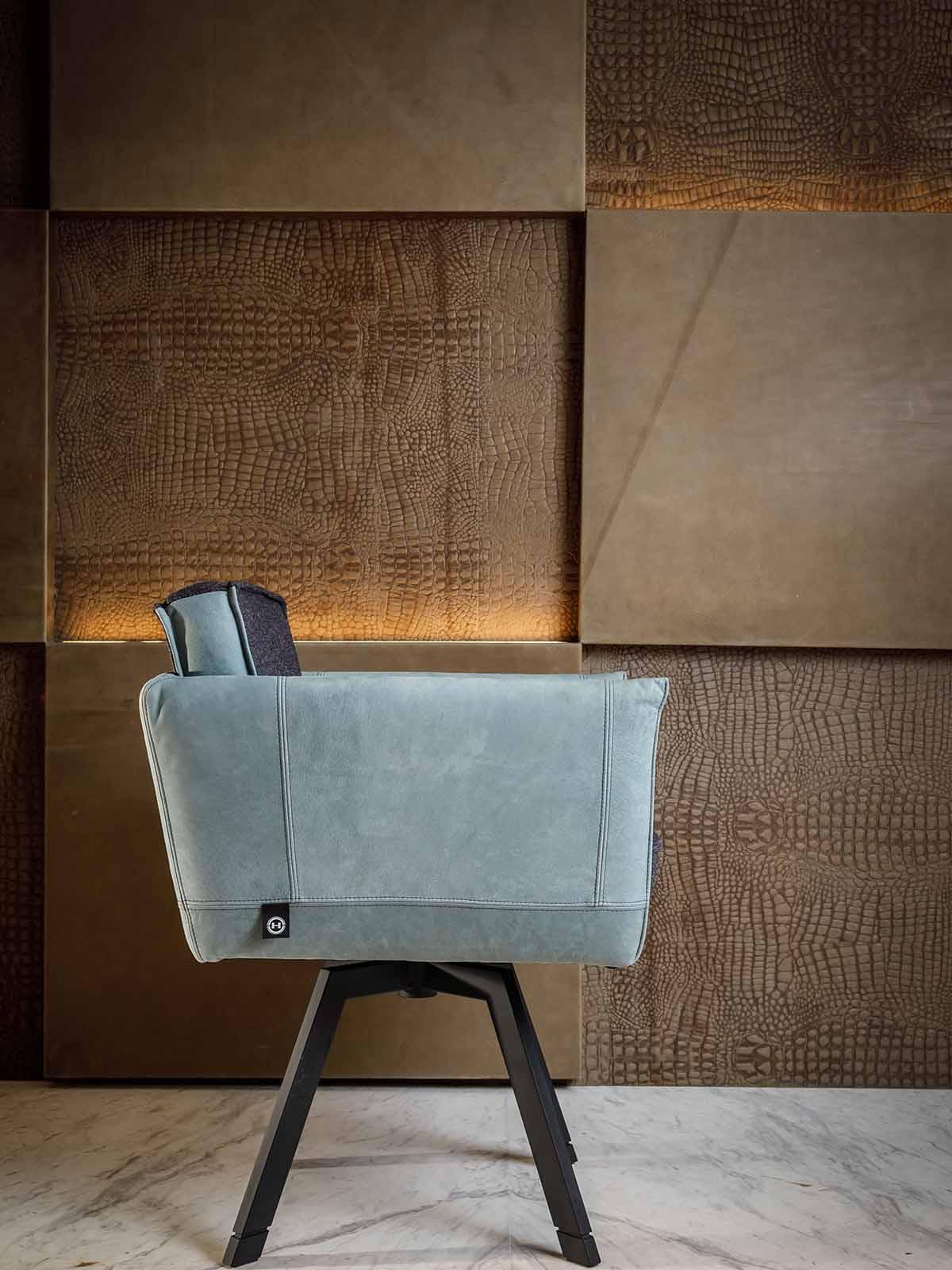 luxe stoel, hans kuijten, the art of living