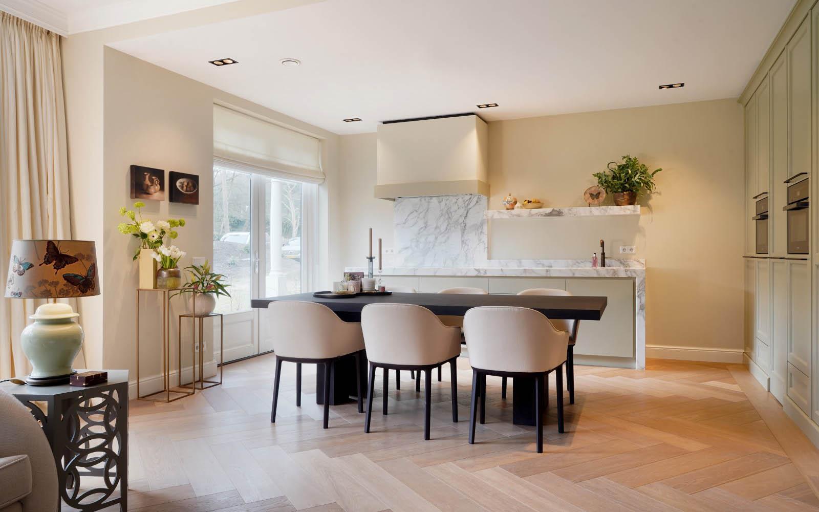 lichte keuken, van essen keukens, the art of living