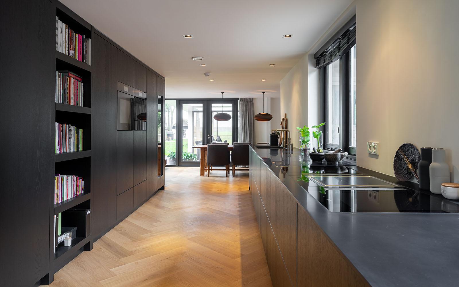 zwarte keuken, hollands maatwerk, the art of living