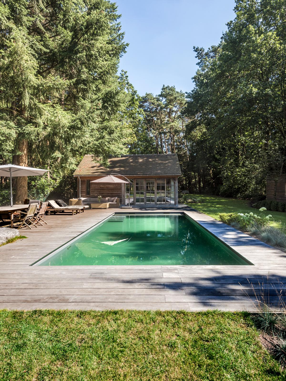 Buitenzwembad, Willy Naessens, luxe, zwemvijver