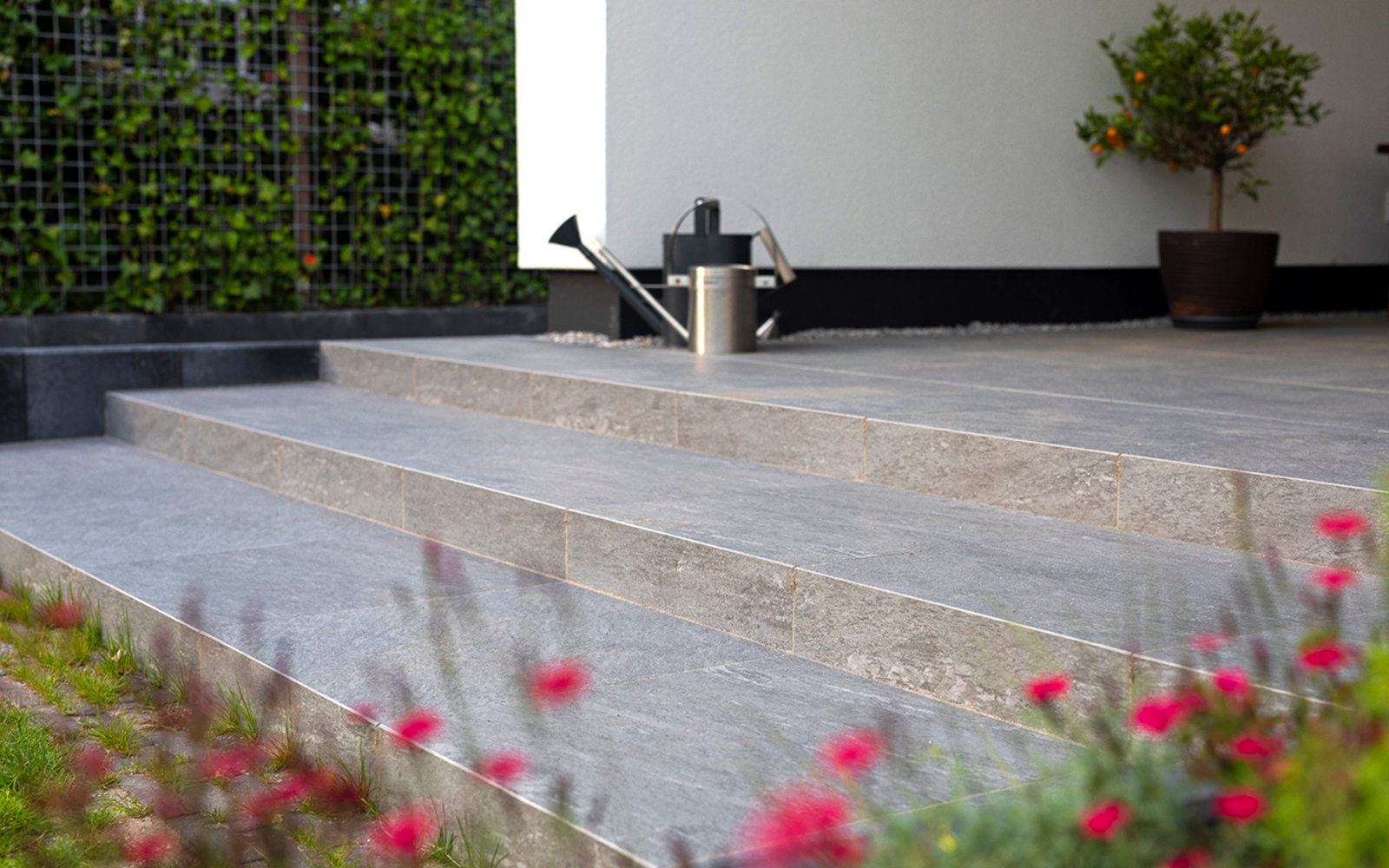 tuinbestrating, mbi de steenmeesters, the art of living