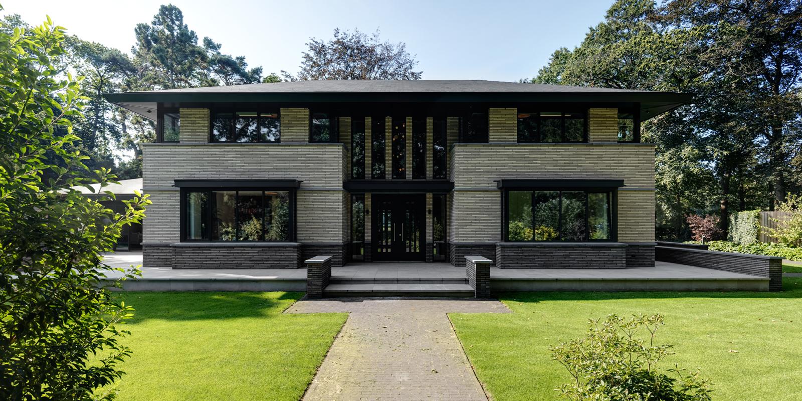 Wonen in de natuur, Voss architecture, Sfeervolle villa