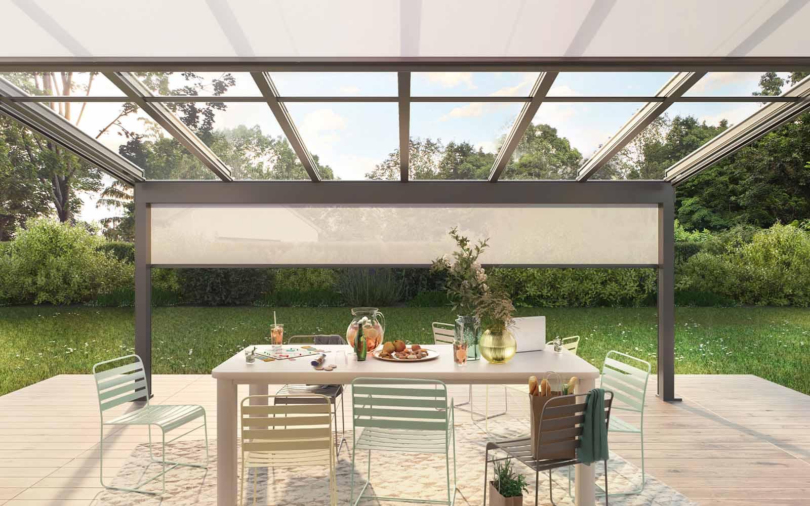 glazen terrasoverkapping, weinor, the art of living