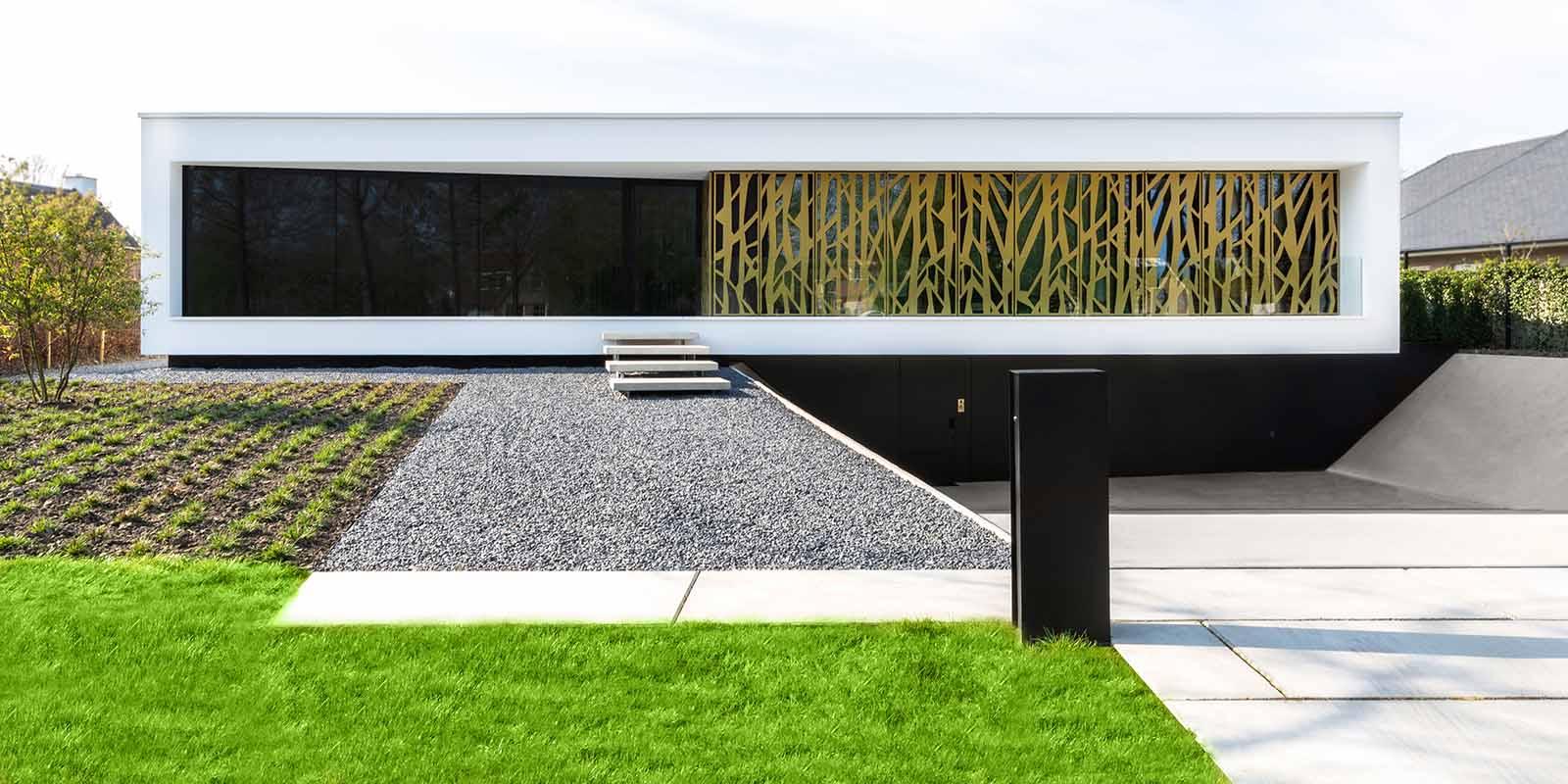 witte villa, lab32 architecten, the art of living
