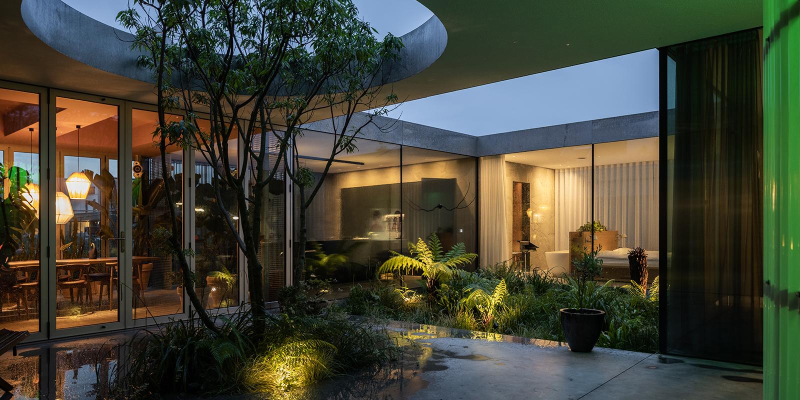 binnentuin, the art of living, buijtels buitengewone tuinen