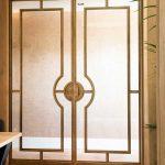 stalen deuren, de rooy metaaldesign, gouden stalen deur, stalen deur, the art of living