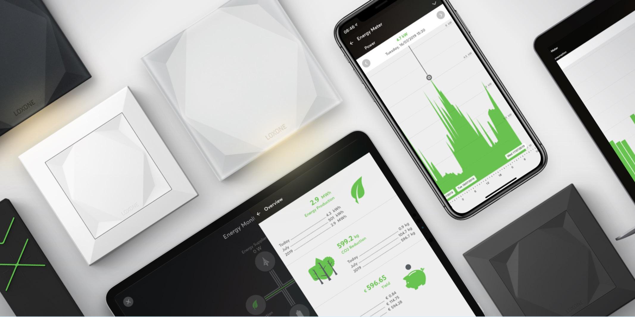 Loxone   besparing van energie, the art of living