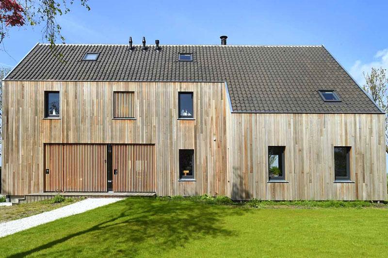 HOYT ARCHITECTEN & BOUWMANAGERS, moderne schuurwoning